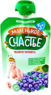 Пюре Маленькое счастье Яблоко-черника 90 г 4813163001793