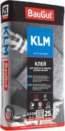 Клей для плитки BauGut KLM 25кг