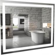 Зеркало Aqua Rodos Альфа 100х80 с подсветкой