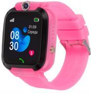 Смарт-часы AmiGo GO007 FLEXI GPS pink (871498)