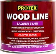 Лак-антисептик Protex WOOD LINE CLASSIC Laquer Stain глянец орех 2,1 л