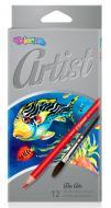 Карандаши цветные Colorino Artist 12 цветов (65528PTR)