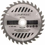 Пиляльний диск COMPASS  180x30x1.4 Z30