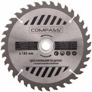 Пиляльний диск COMPASS  185x30x1.4 Z36