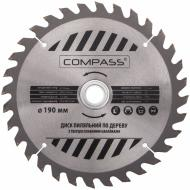 Пиляльний диск COMPASS  190x30x1.4 Z32