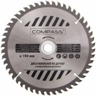 Пиляльний диск COMPASS  190x30x1.4 Z50