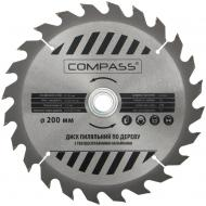 Пиляльний диск COMPASS  200x30x1.4 Z24