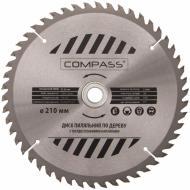 Пиляльний диск COMPASS  210x30x2 Z50