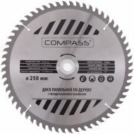 Пиляльний диск COMPASS  250x30x1.4 Z60