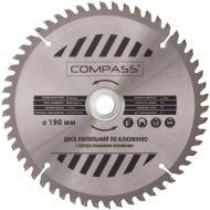 Пиляльний диск COMPASS  190x30x1.4 Z54