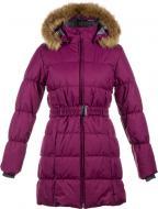 Пальто для девочки HUPPA Yacaranda р.134 бордовый 12030030-80034-134