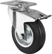 Колесо поворотне з площадкою і гальмом d125 мм CASCOO TBP35WC125SWS4R0N