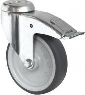 Колесо апаратне поворотне з гальмом під болт d100 мм CASCOO BAH15C0100P2T2P0N