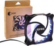 Корпусний кулер QUBE RGB Aura (QB-RGB-120-18)