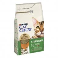 Корм Cat Chow Purina Sterilised Індичка 1,5 кг