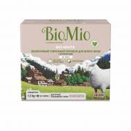 Пральний порошок для машинного та ручного прання BioMio для білої білизни BIO-WHITE 1,5 кг