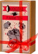 Шоколадний набір Shokopack Я кохаю тебе 100 г (Крафт-Мопс) (4820194870441)