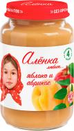 Пюре Аленка любит Яблуко та абрикос 170 г 4813163002585