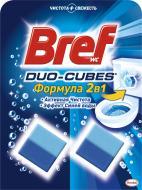 Кубики для унітаза Bref Duo-cubes 2 в 1 2x50 г