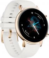 УЦЕНКА! смарт-часы Huawei Watch GT 2 Classic Edition 42 мм (DAN-B19) Frosty WHITE (УЦ №48)