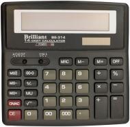 Калькулятор Brilliant BS 314 напівпрофесійний BRILLIANT_