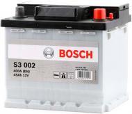 Акумулятор автомобільний Bosch S3 002 45А 12 B 0 092 S30 020 «+» праворуч