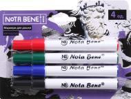 Набір маркерів Nota Bene для дошки 4 штуки 333 різнокольоровий