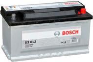 Акумулятор автомобільний Bosch S3 013 90А 12 B 0 092 S30 130 «+» праворуч