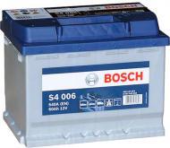 Акумулятор автомобільний Bosch S4 006 60А 12 B 0 092 S40 060 «+» ліворуч