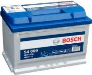 Акумулятор автомобільний Bosch S4 009 74А 12 B 0 092 S40 090 «+» ліворуч