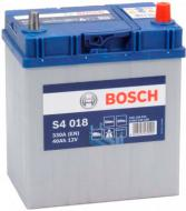 Акумулятор автомобільний Bosch S4 018 40А 12 B 0 092 S40 180 «+» праворуч