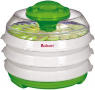Сушарка для овочів та фруктів Saturn ST-FP0112 зелено-біла