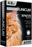 Краплі UNiCUM Premium від бліх і кліщів на холку для великих котів масою 4-8 кг (UN-005)