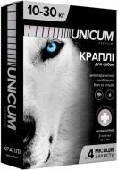 Краплі UNiCUM Premium від бліх і кліщів на холку для собак масою 10-30 кг (UN-008)