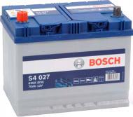 Акумулятор автомобільний Bosch S4 027 70А 12 B 0 092 S40 270 «+» ліворуч