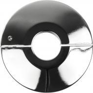 Розетка хромована металева розбірна 16 мм