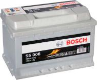 Акумулятор автомобільний Bosch S5 008 77А 12 B 0 092 S50 080 «+» праворуч