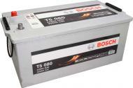 Акумулятор автомобільний Bosch T5 080 225А 12 B 0 092 T50 800 «+» ліворуч