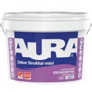 Краска акриловая Aura Dekor Struktur мини белый 9.5л