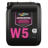 Антисептик Kompozit для защиты древесины Антижук W5 1 л