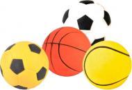 Іграшка для собак Trixie м'яч резиновий, асорті 6 см