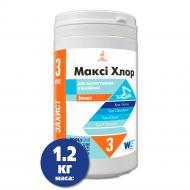 Таблетки для басейну МаксиХлор тривалої дії 1,2 кг