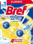 Туалетный блок Bref Сила-Актив Лимонная свежесть