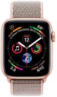 Смарт-годинник Apple Series4 gold Aluminium Case with Pink Sand Sport Loop(MU6G2UA/A)