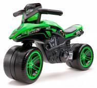 УЦЕНКА! Беговел Falk Moto Kawasaki KX Bud Racing зеленый 502KX (УЦ №24)