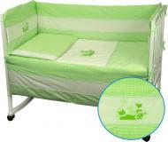 Защита на детскую кровать Котята салатовый Руно салатовыйсалатовый 922Кошенята_Салатовий