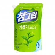 Миючий засіб для ручного миття посуду LION Зеленый чай (запасний блок) 1,34л