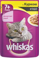 Корм Whiskas з куркою в соусі 7+ 100 г