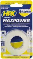 Двостороння автомобільна клейка стрічка HPX Maxpower 19ммx 2м HT1902