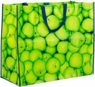 Сумка господарська  Яблука PO3125 650x550x30 мм різнокольоровий